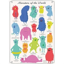 Plakat Monsters of the world