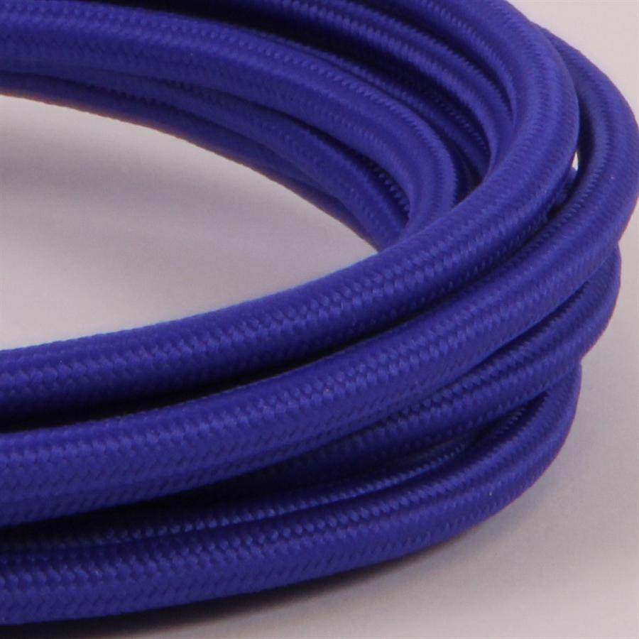 Seriøst Kobolt blå stofledning - meter KT36